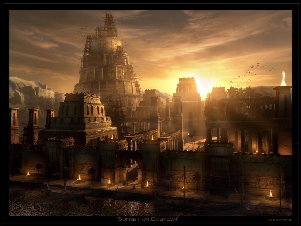 Sunset on Babylon