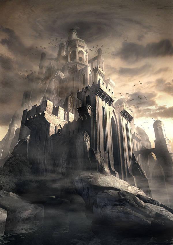 Dark Kastle by Raphael-Lacoste