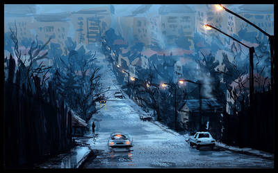 Bucharest by Raphael-Lacoste