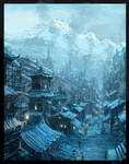 Steampunk Chinese Village