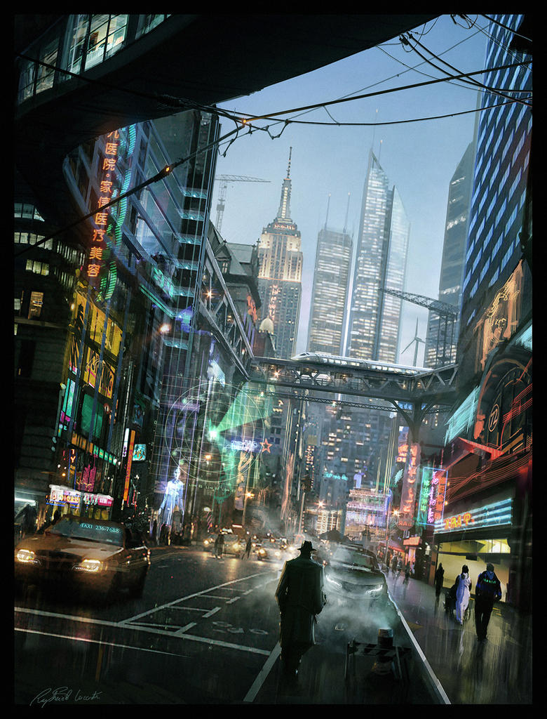 Nyc 2025 By Raphael Lacoste On Deviantart