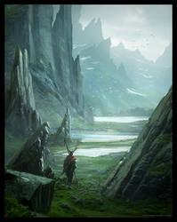 Asgard's Journey by Raphael-Lacoste