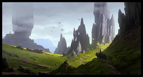 Trip in Skye by Raphael-Lacoste