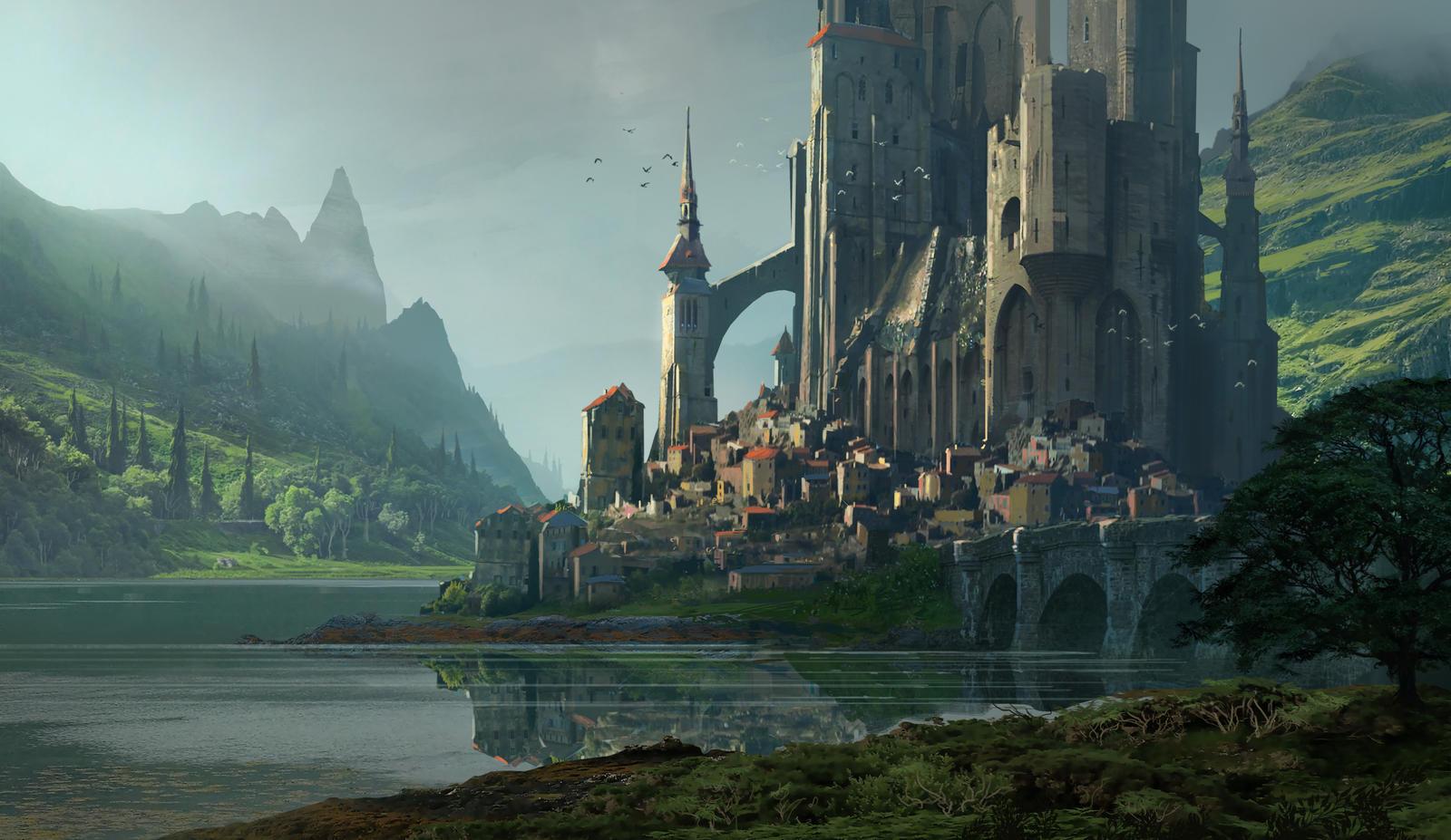 Kvasir Fortress by Raphael-Lacoste on DeviantArt