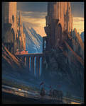 Knights and Mountain Fortress