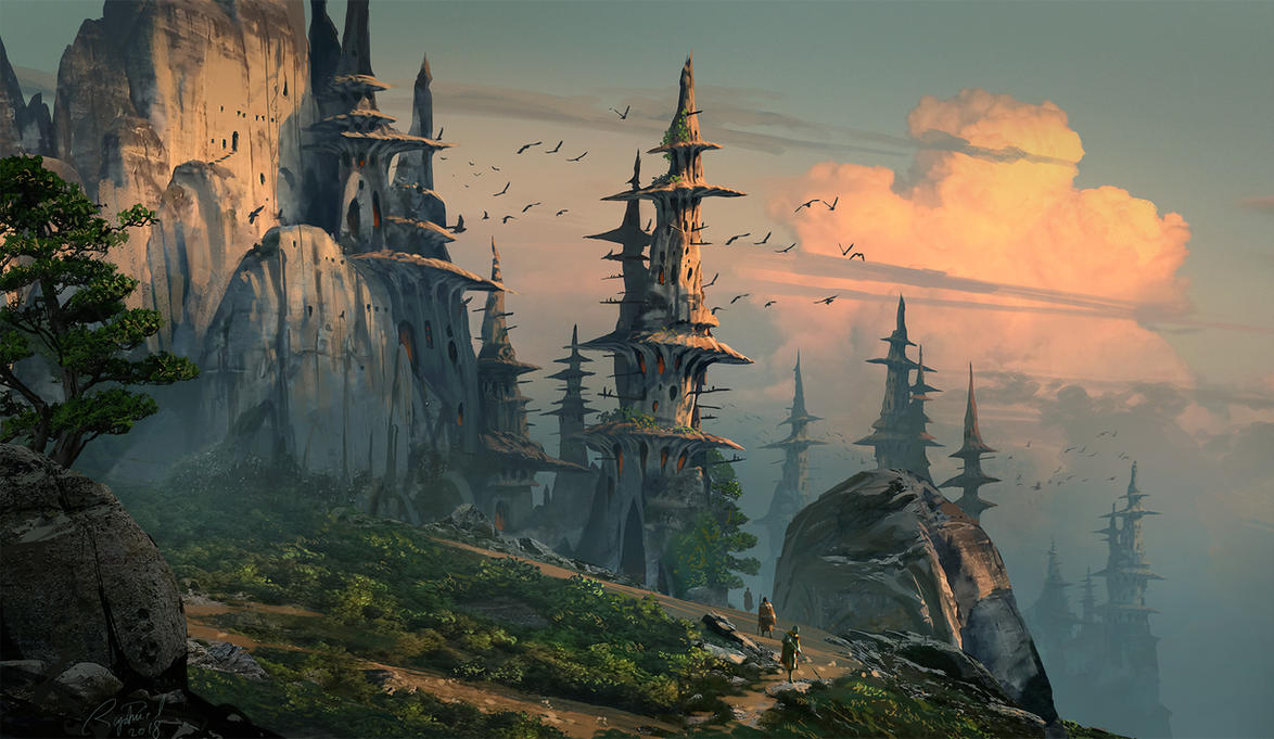 Mushy Land by Raphael-Lacoste