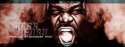 Mark Henry Signature by TheTunit