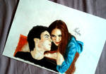Damon Salvatore and Katherine Pierce