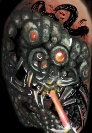 Old Matrix Tattoo Concept Art By Raiderp On Deviantart