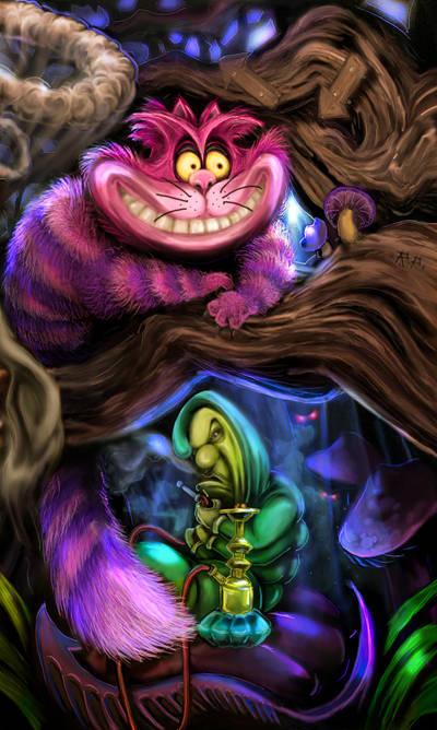 Cheshire cat by RaiderP