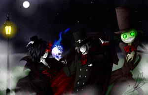 contestentry: undertakers of the victorian era by Saya-Chan-7