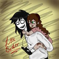 Lil Sister (Jeff n' Sally) by CreepyAdventures