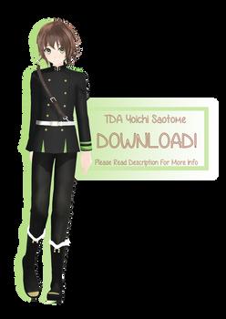 [MMD] Tda Yoichi Saotome [V2 Model DL]