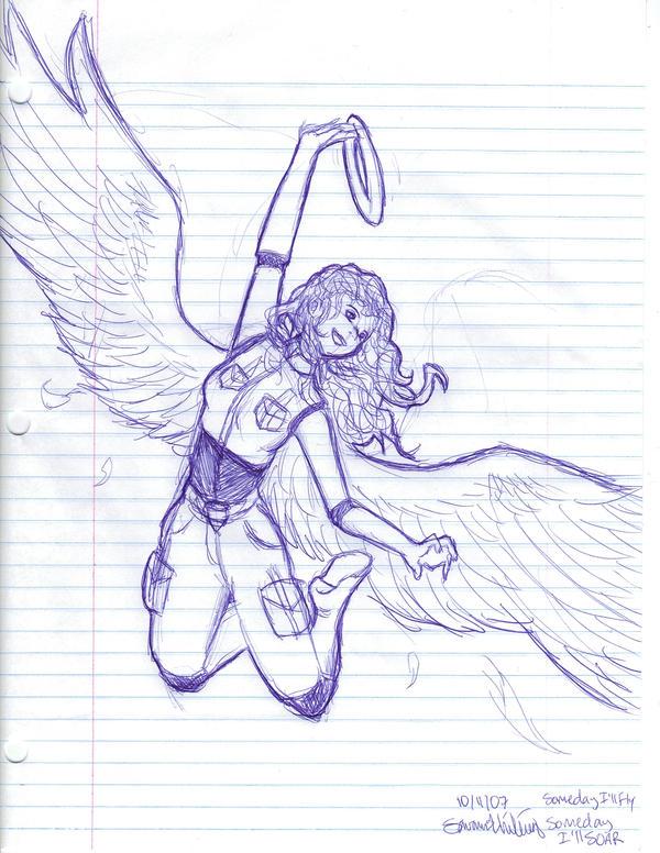 Who needs a halo? by SailorCrafty26