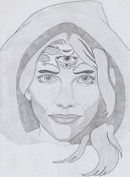 Third eye woman