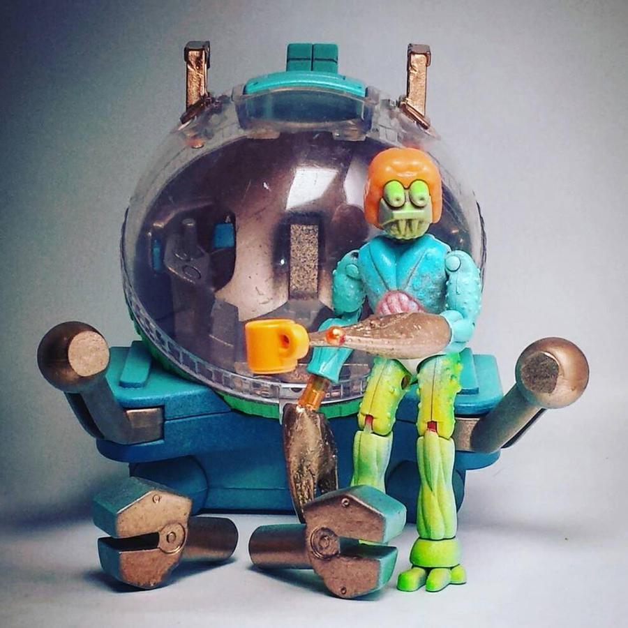 Latest toy customs from Phantomotoi #phantomoshop  by Phantomoshop