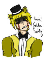 FNAF: Human! Golden Freddy by Bishie--kun