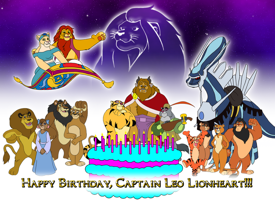 Happy B-day, Lionheart Capt. by BennytheBeast