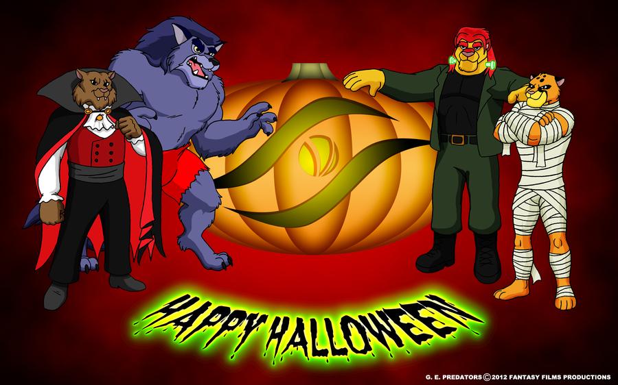 GEP Halloween Wallpaper by BennytheBeast