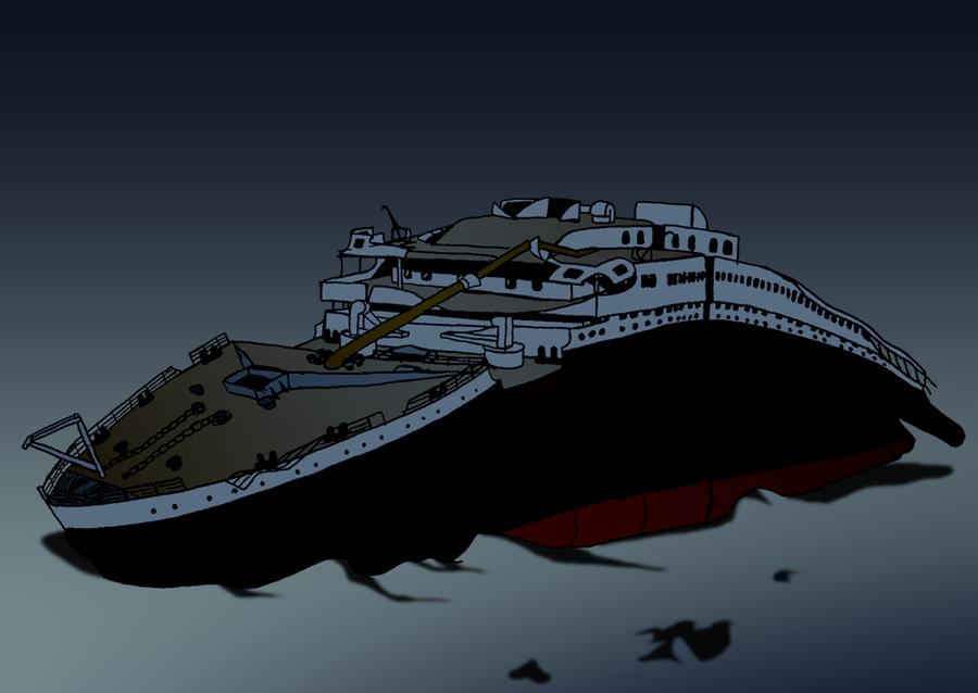 Titanic On The Ocean Floor Ivoiregion