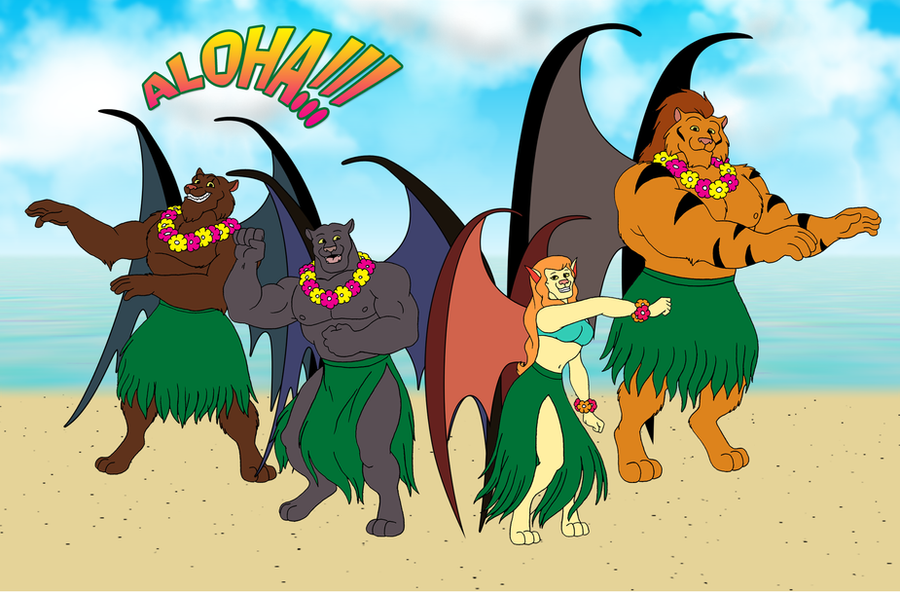 Mutates hawaiian greetings by retrouniverseart on deviantart mutates hawaiian greetings by retrouniverseart m4hsunfo