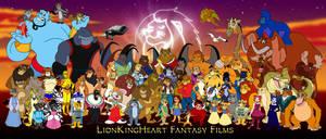 LionKingHeart Fantasy Films poster