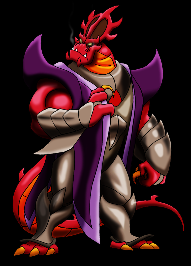 Dragaunus's Legion of Villains Dragaunus_by_bennythebeast-d5bbyt1