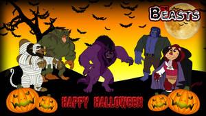 The Beasts - Halloween Wallpaper