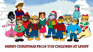 LKHFF Children Christmas Wallpaper