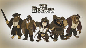 The Beasts - Western Wallpaper