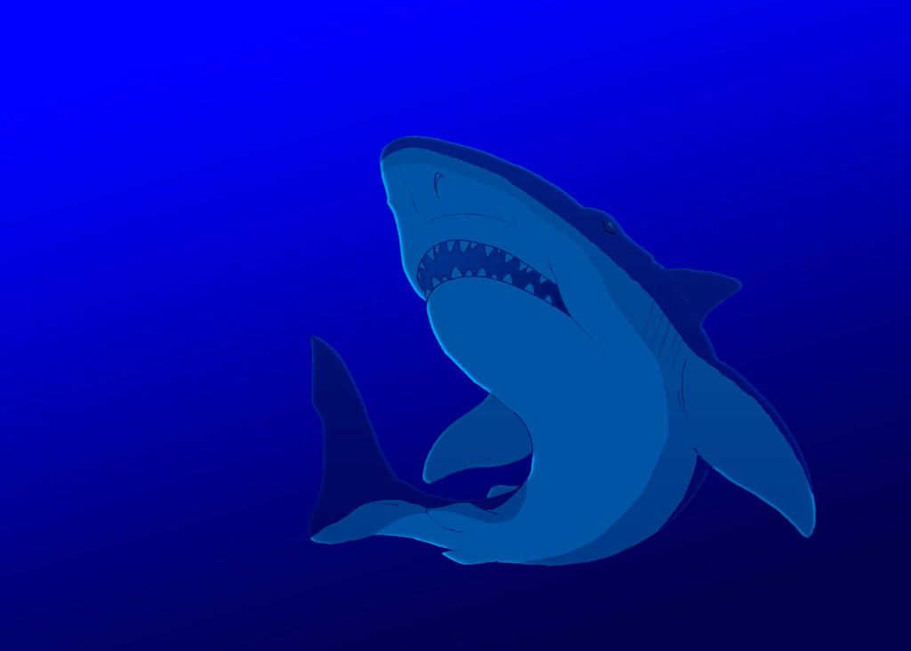 Great White Shark 2 by BennytheBeast