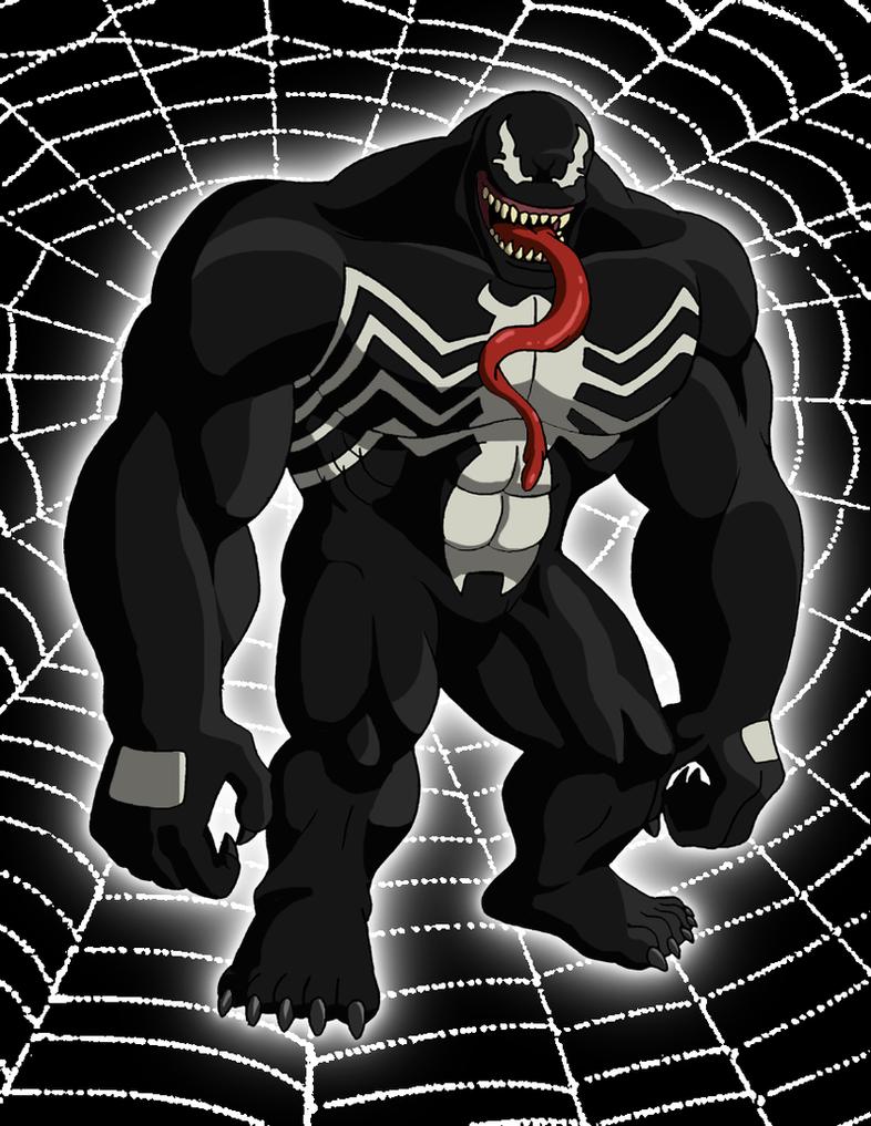 Venom (Ultimate Spider-Man) by BennytheBeast on DeviantArt