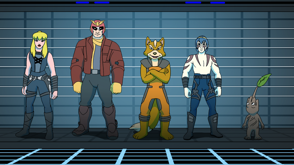 Commission - Nintendo Guardians of the Galaxy by BennytheBeast