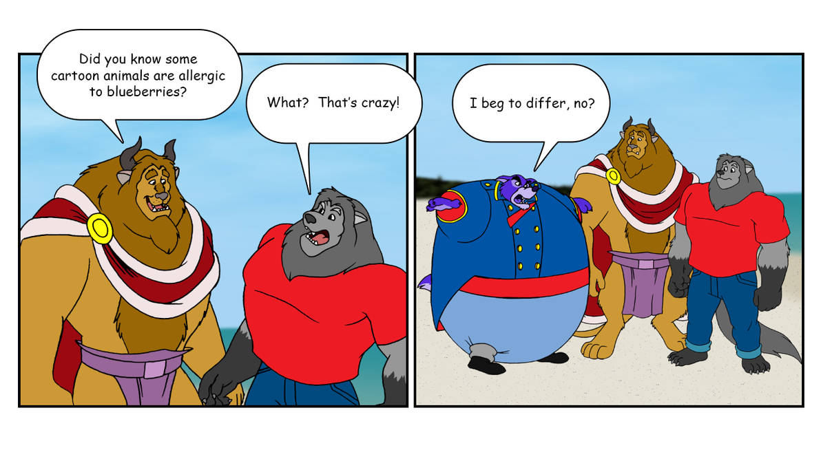 Mad Furry Comics Blueberry Inflation By Retrouniverseart On Deviantart