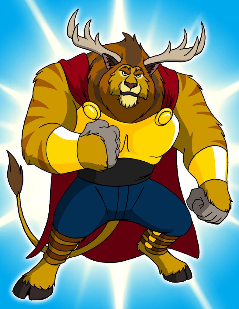 Terrel the Golden-Beast by BennytheBeast