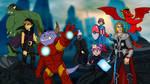 Commission - Fantasy Avengers