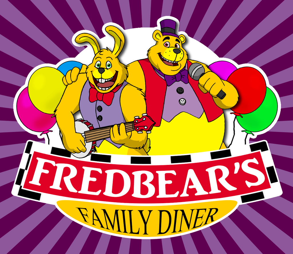 Fredbear 39 s family diner logo by fantasyflixart on deviantart for Family diner
