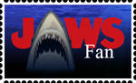 Jaws Fan Stamp by RetroUniverseArt
