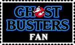 Ghostbusters Fan stamp by RetroUniverseArt