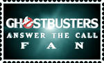 Ghostbusters: Answer the Call fan stamp by RetroUniverseArt