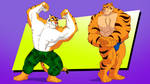 Commission - Macho Tigers