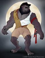 Wolf-Man Creation by RetroUniverseArt