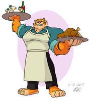Chef Tye by RetroUniverseArt