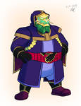 Sketch-a-thon Order - Kamen Rider Merlock by RetroUniverseArt