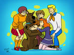 Commission - Mystery Inc Full Reunion
