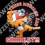 Tony the Tiger Decal 001