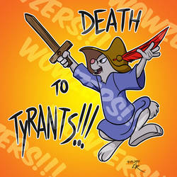 Death to Tyrants Decal
