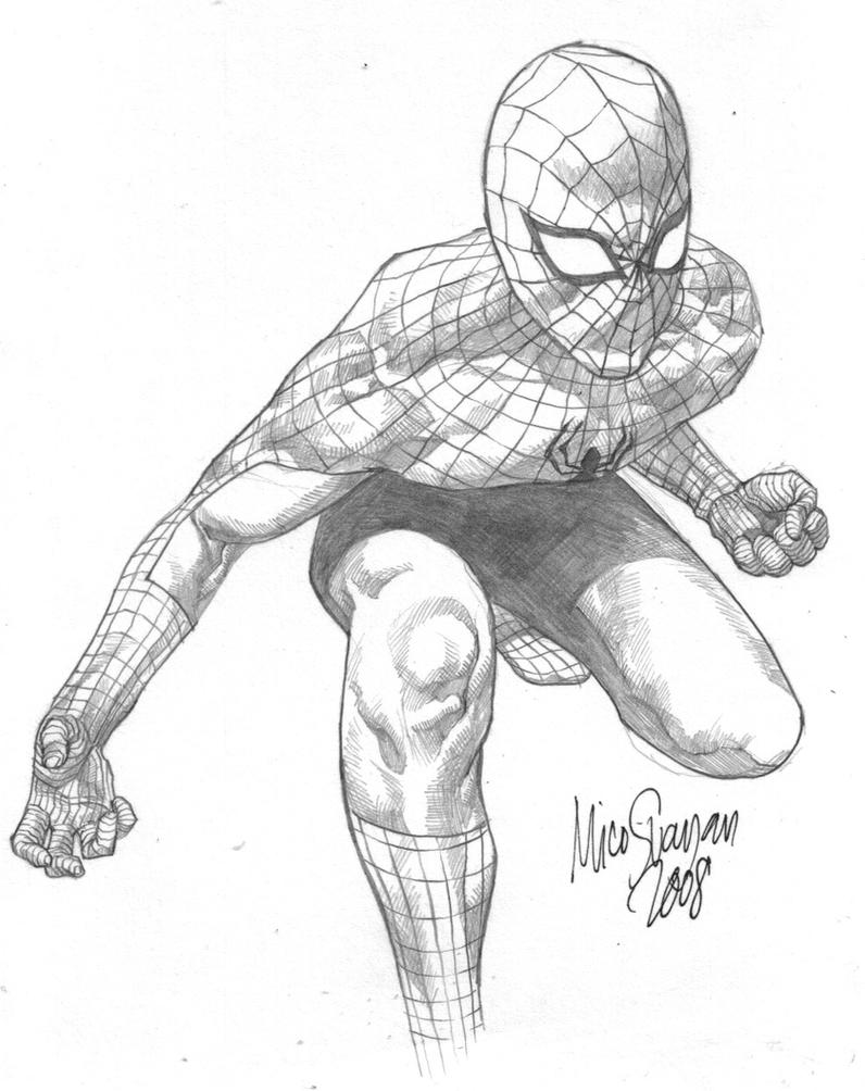 quicky spidey by MicoSuayan