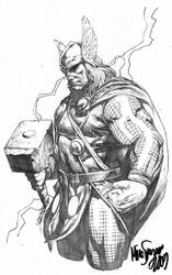 Thor Sketch 2 by MicoSuayan