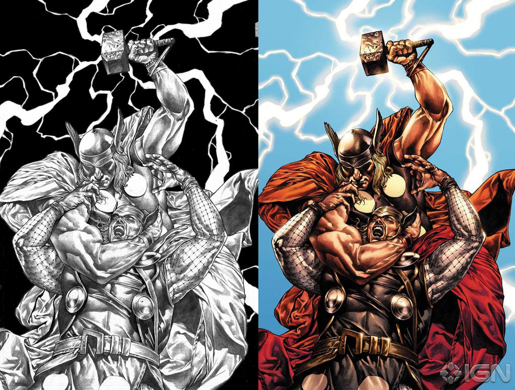 Part 14 / 10 Thor_609_Cover_by_MCornelius